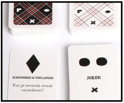 Filosofiespel Nomizo, speelkaarten